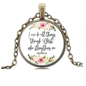 Jewelry - 🆕 I Can Do All Things Necklace